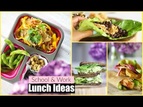 Healthy Lunch Ideas for Back To School and Work Featuring iHerb MissLizHeart