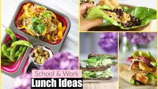 Healthy Lunch Ideas for Back To School and Work Featuring iHerb - MissLizHeart