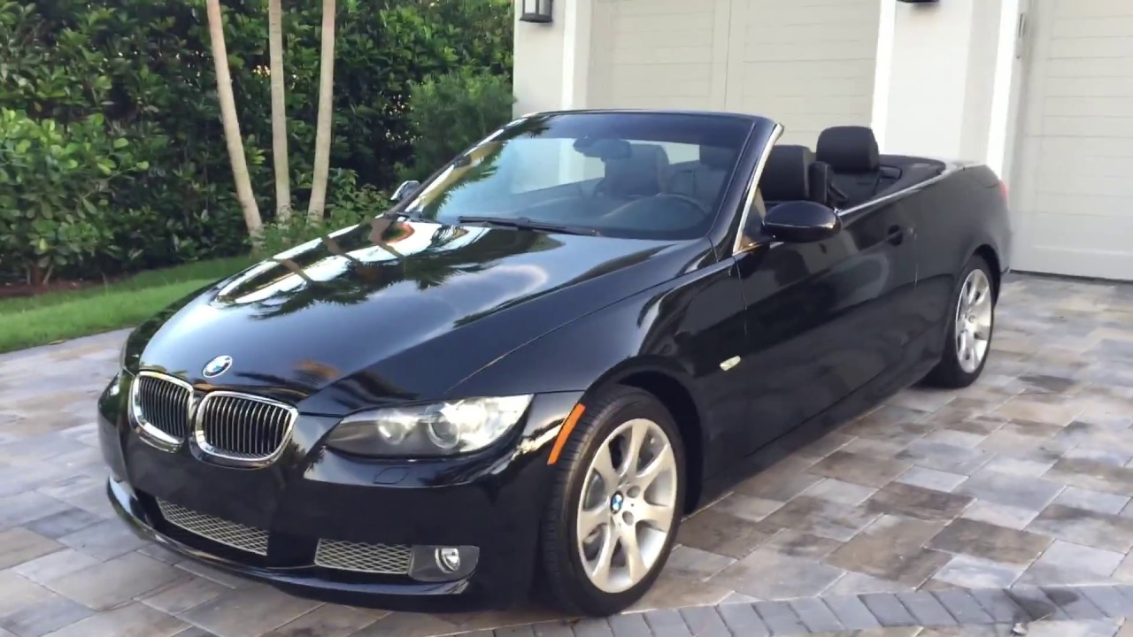 BMW 335I Convertible >> 2009 Bmw 335i Convertible For Sale By Auto Europa Naples