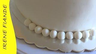 Украшения из мастики. Как сделать шарики из мастики для торта