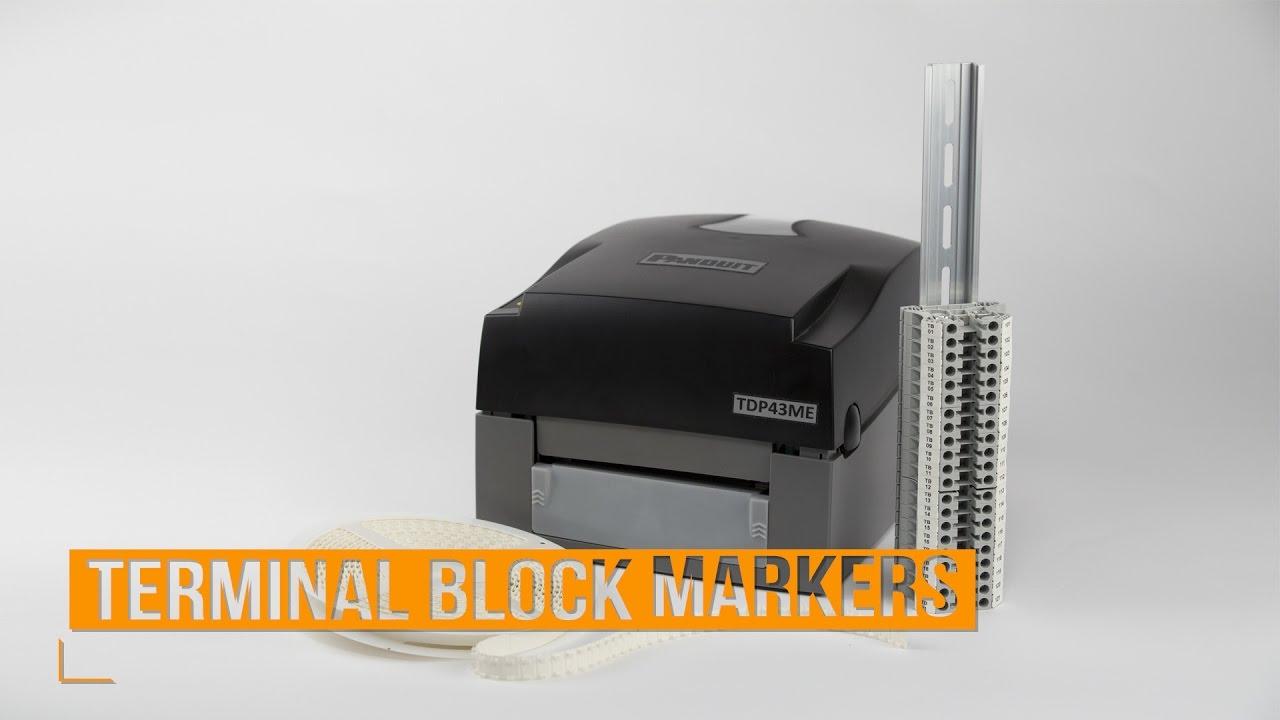 Panduit TDP43ME Printer Drivers for Windows Download