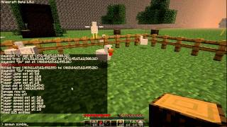 Minecraft 1.2.5 Single Player Commands Mod: See the Commands! Part 3/3