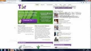 How To Use TOR And Access The