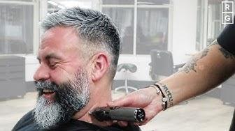 Haircut And Beard Trim | Short Textured Haircut With Beard Shape Up