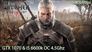 The Witcher 3 - GTX 1070 & i5 6600k OC - ULTRA SETTINGS