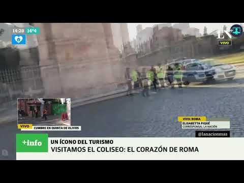 Coronavirus en Italia: ¿Cómo está el Coliseo?