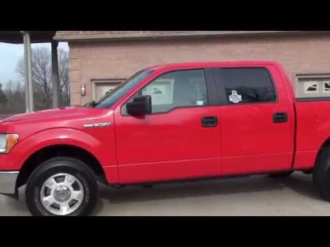 HD VIDEO 2014 FORD F150 XLT CREW CAB 4X4 FOR SALE SEE WWW SUNSETMOTORS COM