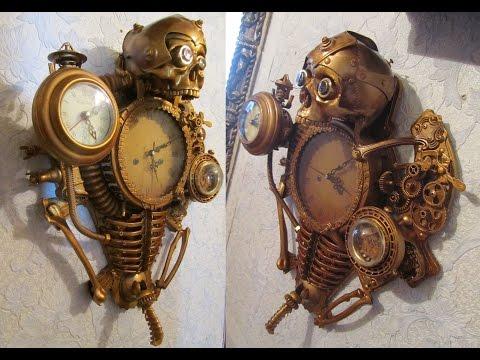 "Steampunk Art ""Часы капитана Немо"""