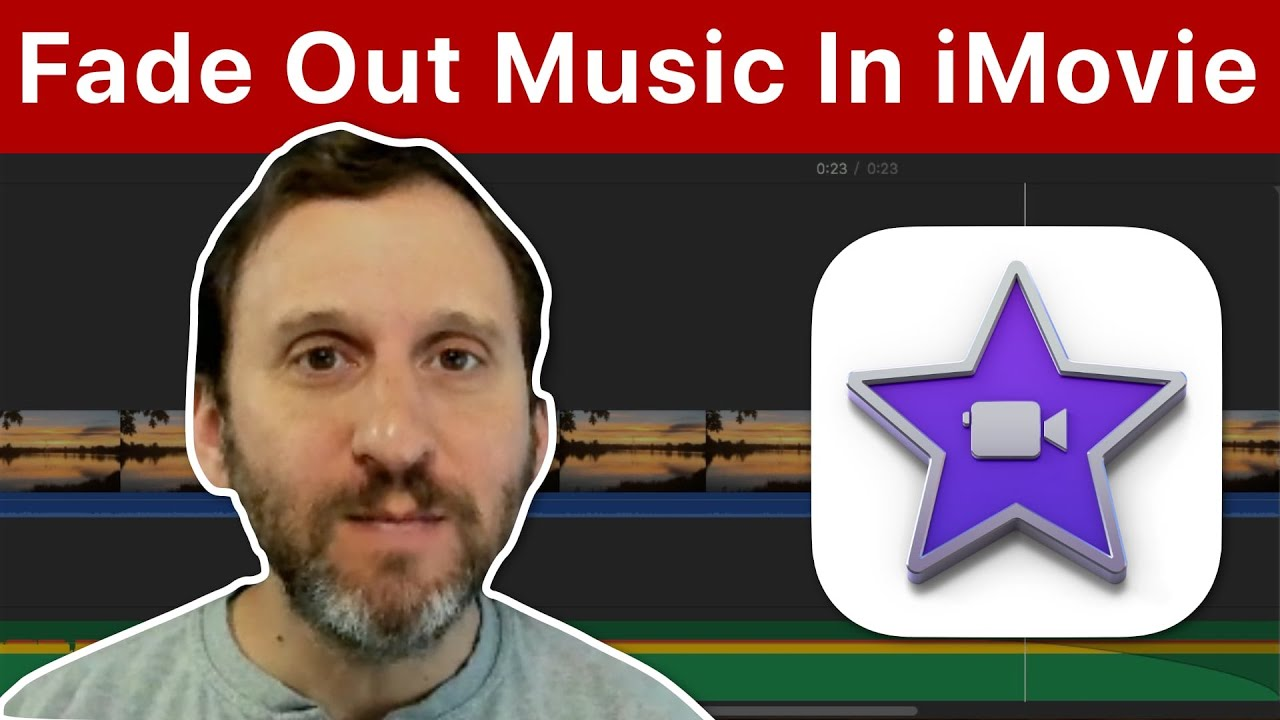 Fade Out Background Music in iMovie