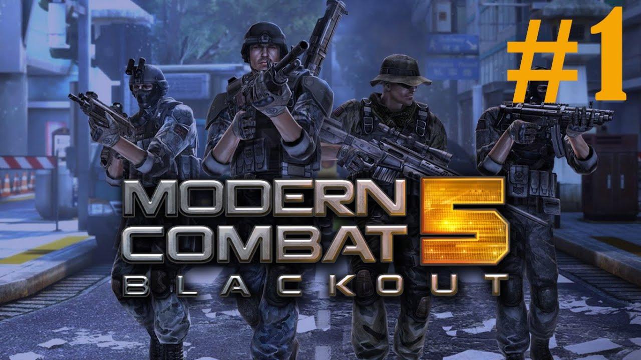 Modern Combat 5 : Blackout Gameplay #1