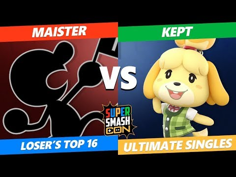 SSC 2019 SSBU - ANAHUAC Maister (G&W) VS FAINT Kept (Isabelle) Smash Ultimate Loser's Top 16