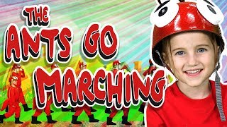 The Ants Go Marching | Little Wiggle's Nursery Rhymes | WigglePop
