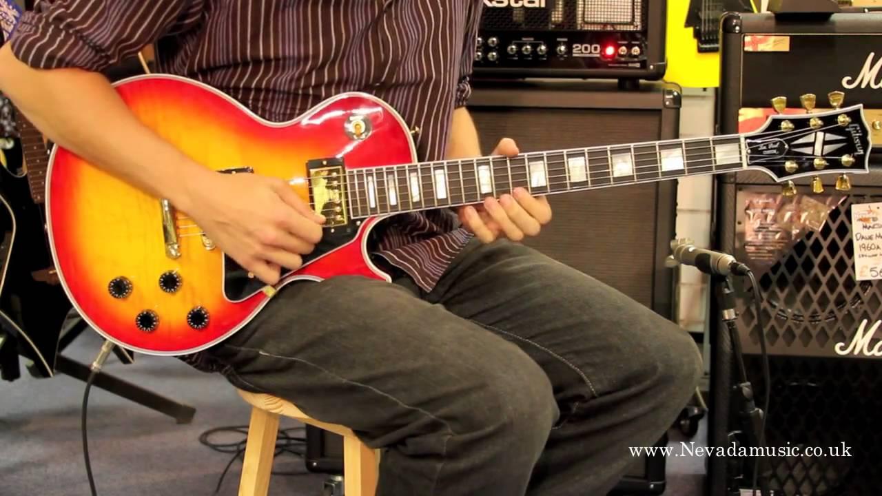 Gibson Les Paul Custom Cherry Sunburst Demo - Sam Bell @ PMT