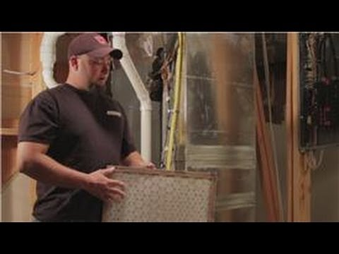 Central Air Conditioning Information : How to Clean an Air Conditioning Filter