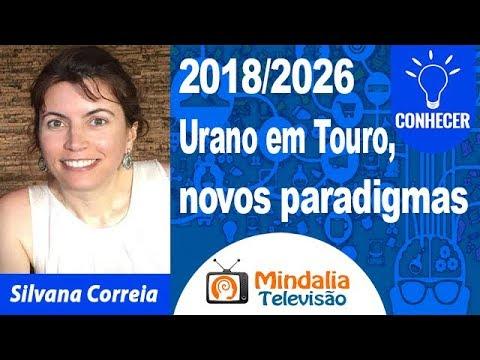 09/04/19 2018/2026 Urano em Touro, novos paradigmas por Silvana Correia