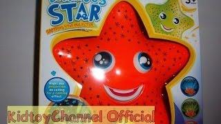 Видео обзоры игрушек 2016 - Морская звезда проектор. Ночник для самых маленьких