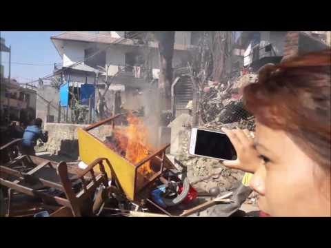 Boudha Police Beat Attack
