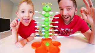 Father & Son PLAY GIGGLE WIGGLE! / Don't Drop The Marbles!