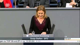 """Sonja Steffen """"Vor dem Gesetz sind alle gleich"""" - Immunitätsausschuss"""