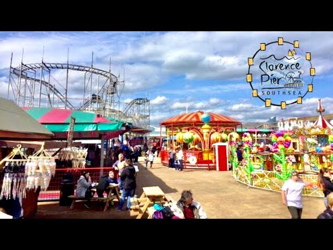 Clarence Pier Vlog 15th April 2017