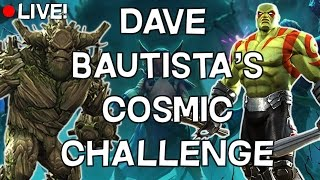 Dave Bautista's Cosmic Challenge - Full Clear Attempt [LIVE!] - Marvel Contest Of Champions