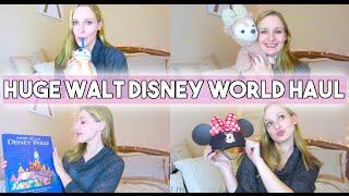 HUGE WALT DISNEY WORLD HAUL! streaming