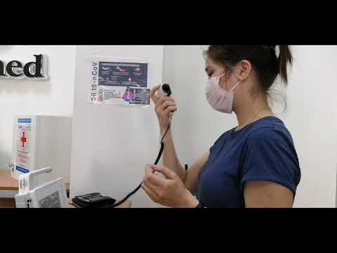 Монитор пациента BM1 для диагностики и профилактики коронавируса в офисе