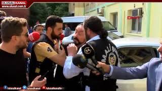 Adnan Oktar'ın gözaltı görüntüleri