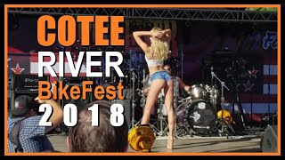COTEE RIVER BIKE FEST 2018 - Bikes, Boots and Daisy Dukes!