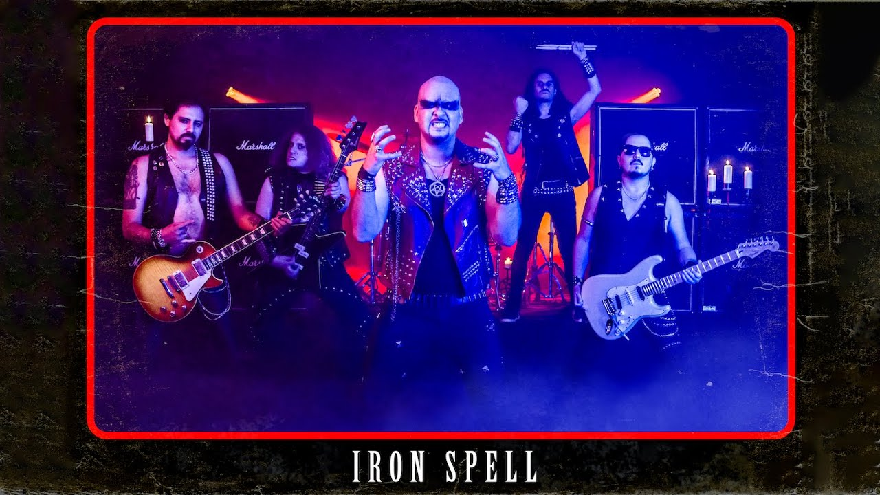 Iron Spell - Nightmare (Official Video)