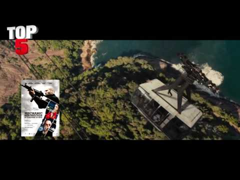 Top 5 -  BEST (ACTION) MOVIES of 2016 [HD]
