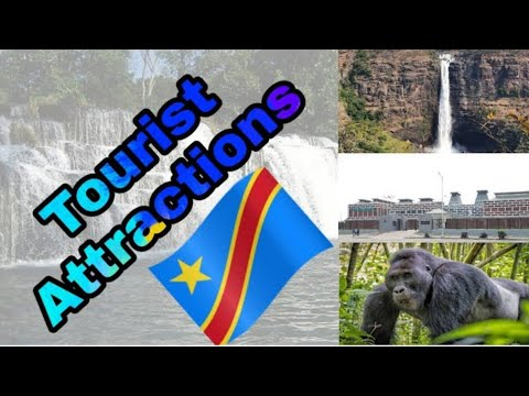 Tourist Attractions in DR Congo !! Surprising World !! Travel Guide