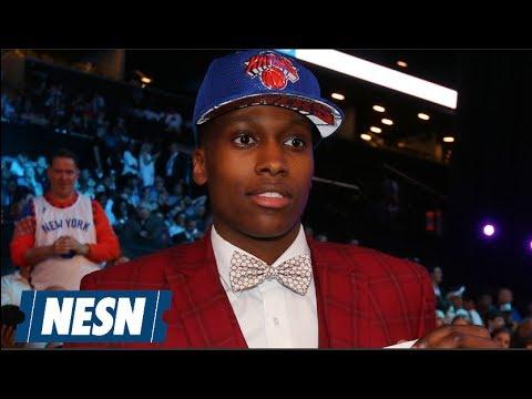 Frank Ntilikina (Knicks) Full NBA Draft Press Conference