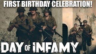 Day of Infamy's 1st Birthday Celebration!