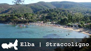 Isola d'Elba | Spiaggia di Straccoligno | Panorama e Mappa