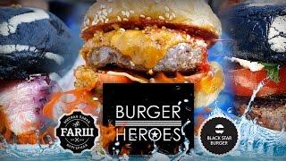 Бургеры от Burger Heroes. Лучшие? Начинаем рейтинг бургерных