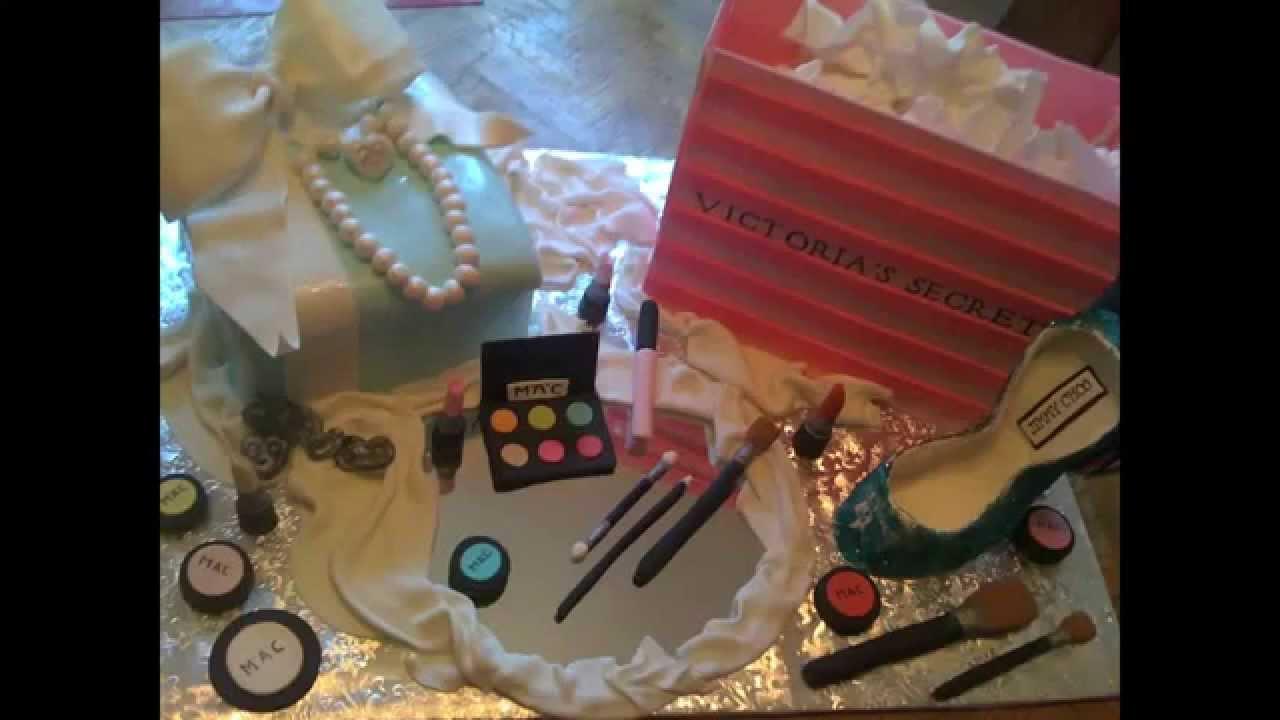 How To Make Makeup Box Cake