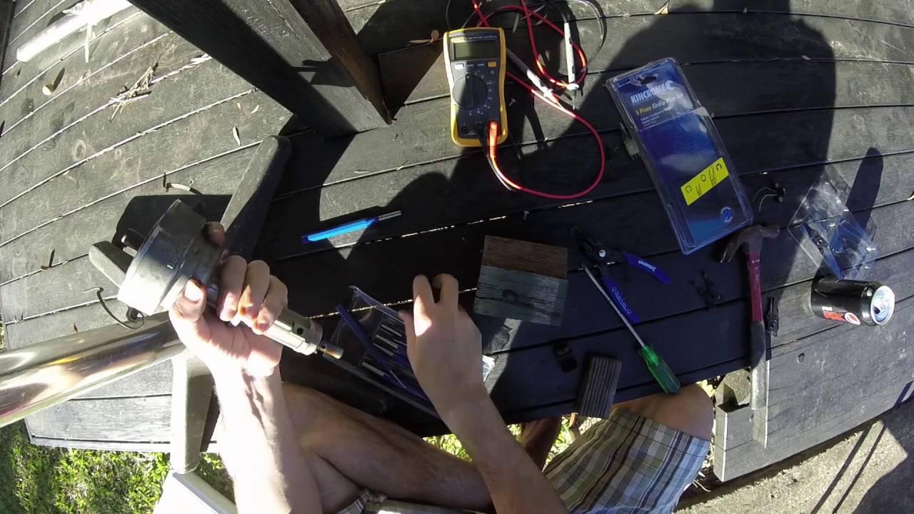 How to fix: Hall Effect Sensor Distributor