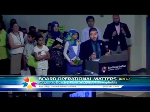 [MIRROR] Muslim Pity Party at San Diego School Board Meeting