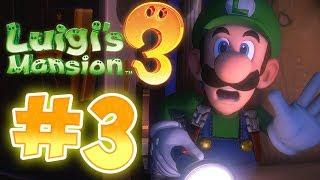 Luigi's Mansion 3 Gameplay !! Walkthrough # 3 !! RIP Suites 5F & Gooigi !?! ᴴᴰ