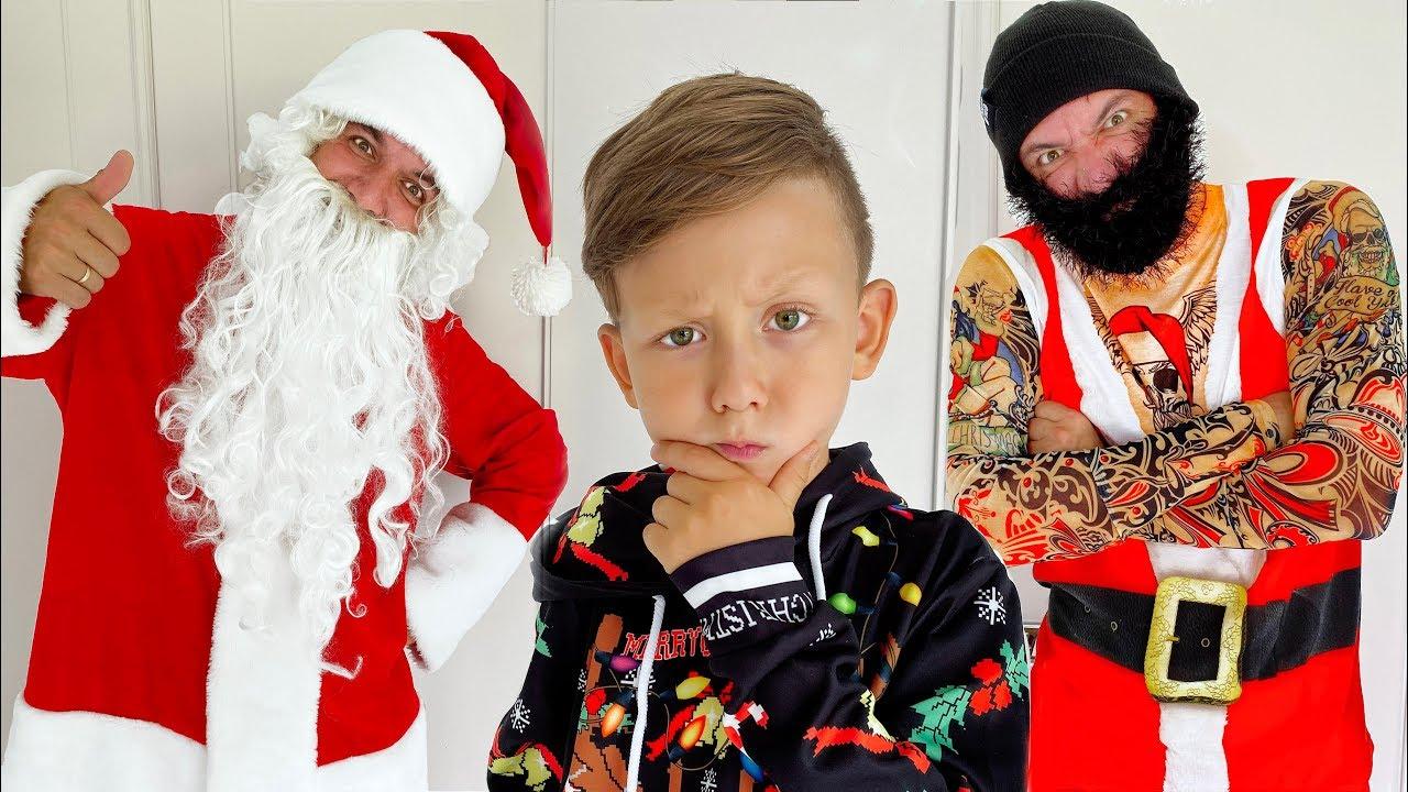 Bad Santa подарил Сене САМЫЙ НЕОБЫЧНЫЙ Подарок! Сеня в ШОКЕ!
