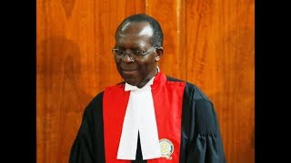 Justice Jackton Ojwang put Petitioner's Lawyer to task over Dr. Akombe's letter