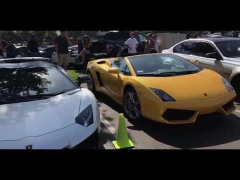 INSANE CAR SHOW AT SD Wrap Tanner Fox