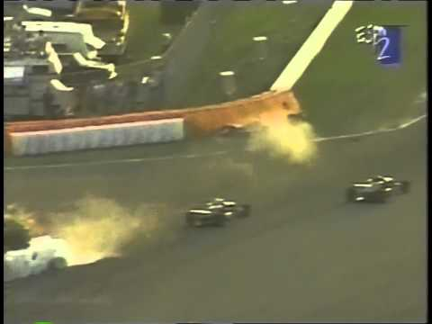 Greg Lemond F2000 Car Crash
