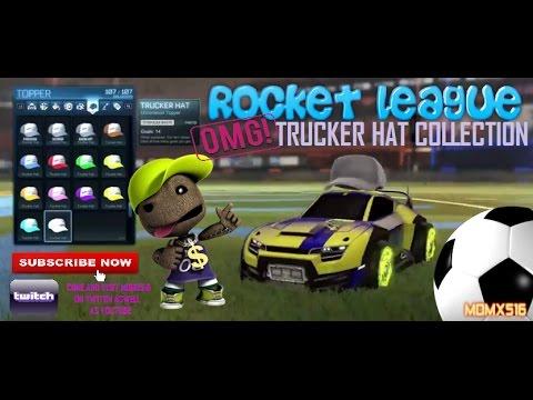 Rocket League Hats
