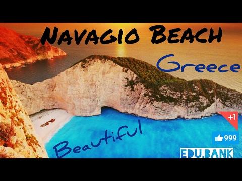 Nature Scene of Beautiful Beach in Greece ...