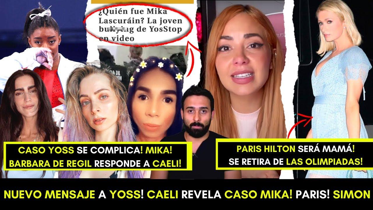 NUEVO MENSAJE A YØSS! CAELI EXPONE CASO MIKA! BARBARA DE REGIL! SIMONE SE RETIRA DE LAS OLIMPIADAS!