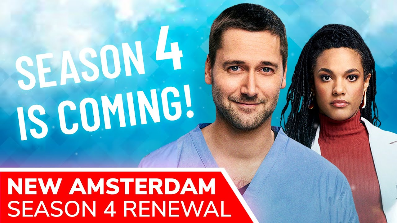 Download NEW AMSTERDAM Season 4 AND 5 Confirmed as Ryan Eggold Series Added To Netflix