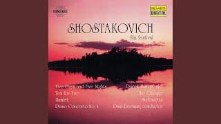 Concerto No. 1 For Piano, Trumpet, And Strings: Allegro Moderato; Allegro Vivace