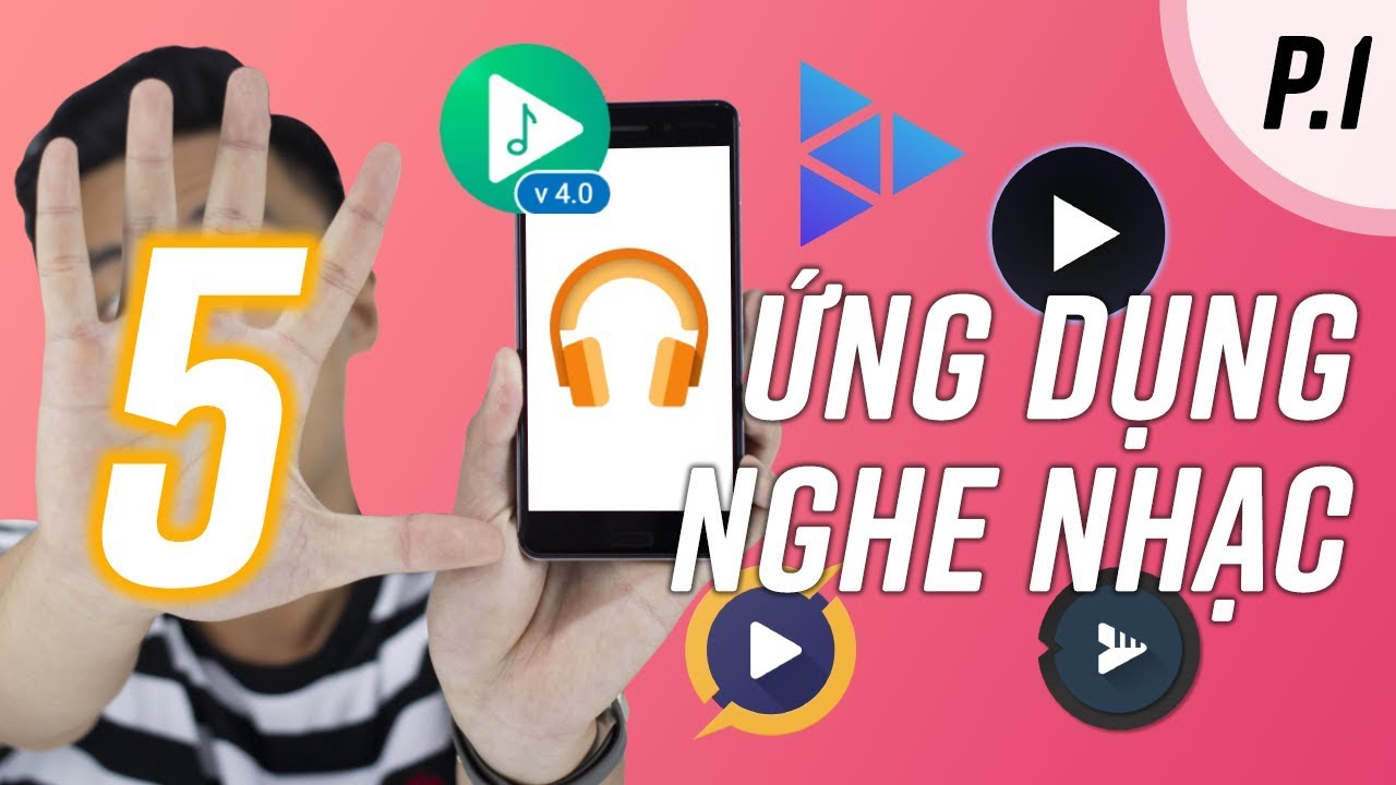 5 ứng dụng nghe nhạc NGON HƠN mặc định | Android 2019 (P.1)